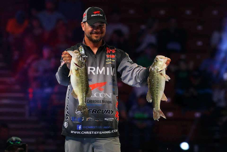 Christie Builds Classic Lead (Bassmaster.com)