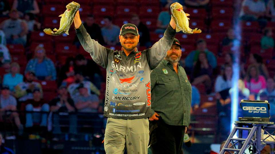 Christie Leads Classic Day 1 (Bassmaster.com)