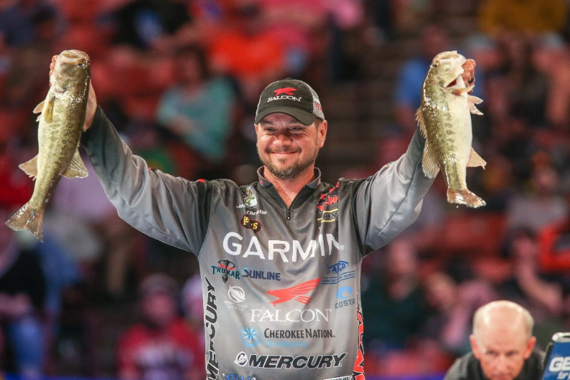 Christie Extends 2018 Bassmaster Classic Lead on Day 2 (Wired2Fish)